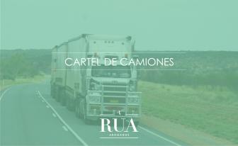 cártel de camiones, rúa abogados, transporte